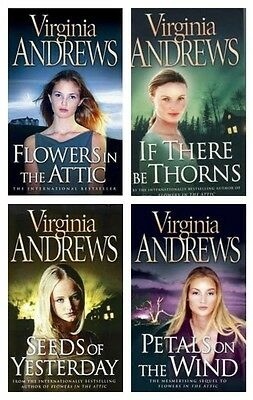 Virginia Andrews Dollanganger Collection 4 Books Set (Flowers in the Attic (NEW)