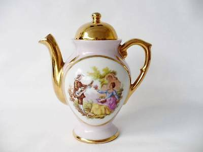 Miniature Limoges Teapot - Fragonard Decoration