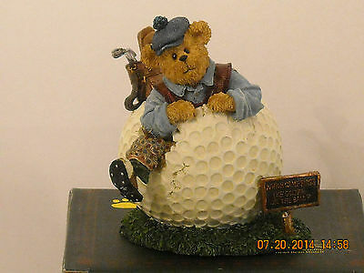BOYDS BEAR COLLECTIBLE ( WILSON PUTTENSTUFF PAR FOR THE COURSE)