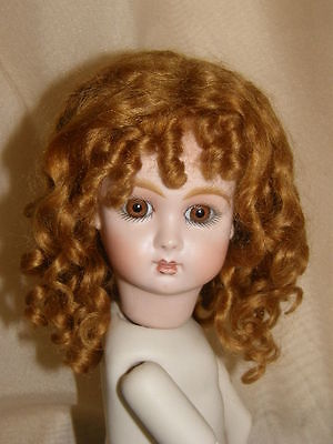 BruJne Jumeau Steiner Mohair Wig French Antique or Reproduction Sz8 Loveless