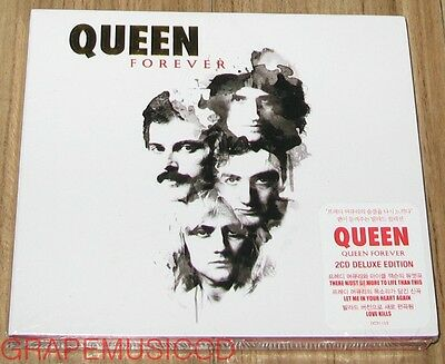 QUEEN Forever KOREA Deluxe Edition 2 CD + POSTER IN TUBE CASE SEALED