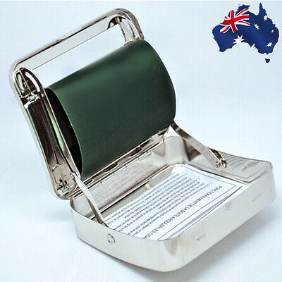 Metal Automatic Cigarette Roller Rolling Machine Box Case Cigar TCIGA0908