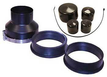 901K3: 4-inch Series 9000 Installation Kit for 5.25, 5.5, or 6-inch Inlet