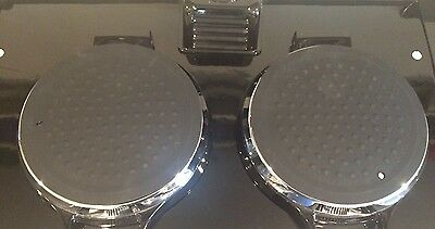 New Silicone Black Lid Covers Chef Pads Hob Covers - Pair suitable for Aga