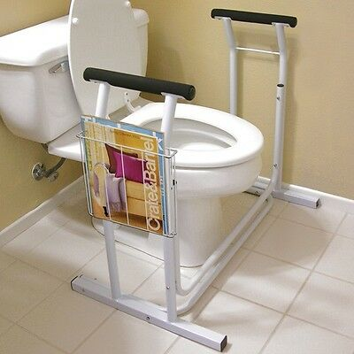 Jobar International JB4349 Deluxe Toilet Safety Support,  Weight Limit: 300-lbs.