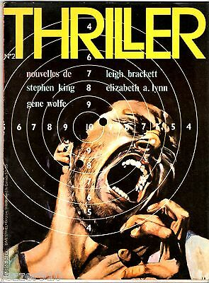 THRILLER n°2 ° 1979 ° LEIGH BRACKETT/STEPHEN KING/GENE WOLFE