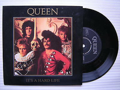 Queen - It's A Hard Life / Is This The World We Created...? EMI QUEEN-3 Ex