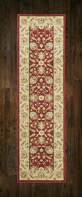 Afghan Ziegler Wool like Antique RED Traditional Hallway Runner 67x230cm 30%OFF
