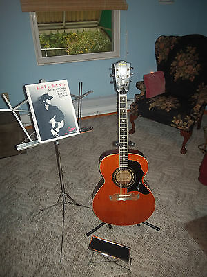 "VINTAGE ""FRAMUS"" JUMBO 5/197 ACOUSTIC GUITAR WITH ACCESSORIES"