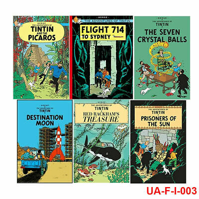 Adventures of Tintin Series 3, 5 Books Collection Set Red Rackham's Treasure UK