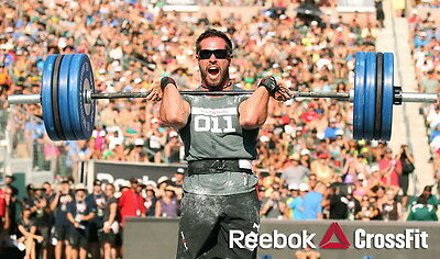 """048 Rich Froning Jr. - Professional CrossFit Athlete Games 24""""x14"""" Poster"""