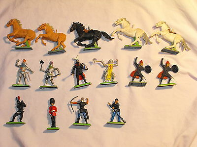 1970s Britains Deetail Lot of 15 Figures for Parts