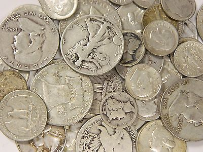 1 Standard Ounce 90% Silver U.S Junk Coins! Buy Silver Now at lowest prices !!
