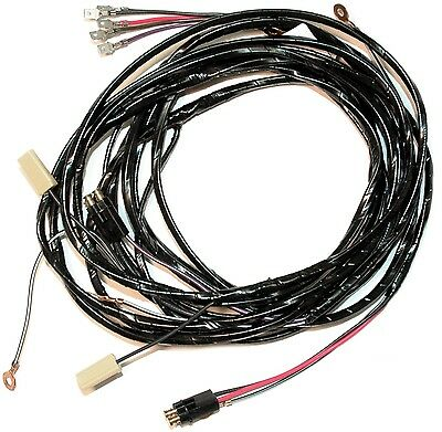 1958 - 1960 Corvette Rear Body Tail Light Wiring Harness.