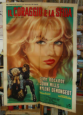 THE SINGER NOT THE SONG/DIRK BOGARDE/italy poster