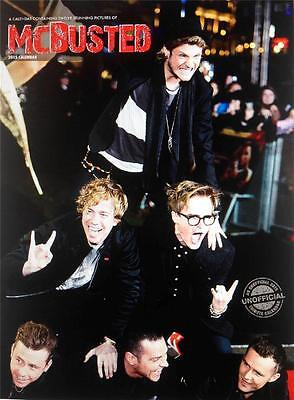 Sale !!! Sale !!! Mcbusted 2015 Uk Large Wall Calendar New And Sealed Sale !!