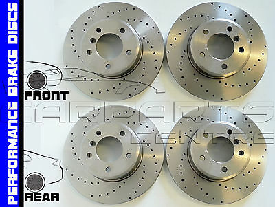 FORD MONDEO MK3 ESTATE 2000-2004 FRONT /& REAR BRAKE DISCS AND PADS SET NEW