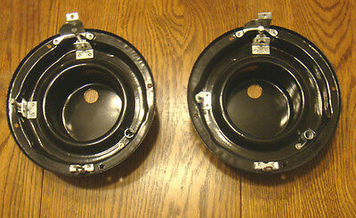 1955 CHEVY HEAD LIGHT LAMP BUCKETS  , new  Pair
