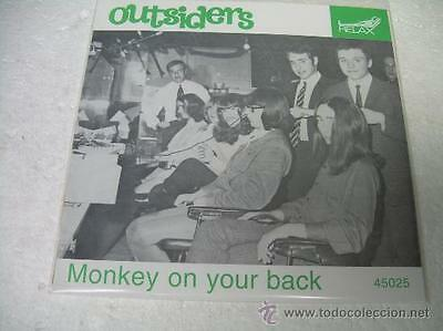 """7""""  The Outsiders Monkey On Your Back Psych Vinyl"""