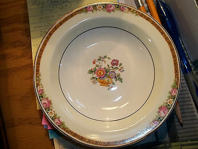 Dainty English Grindley Co Ivory with Roses Small Bowl