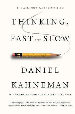 Thinking, Fast and Slow by Daniel Kahneman (English) Paperback Book Free Shippin