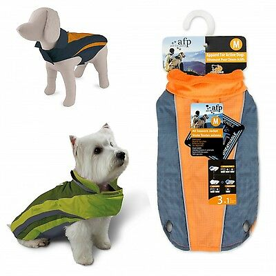 All For Paws AFP Outdoor Dog Puppy All Season Waterproof Fleece Jacket Rain Coat