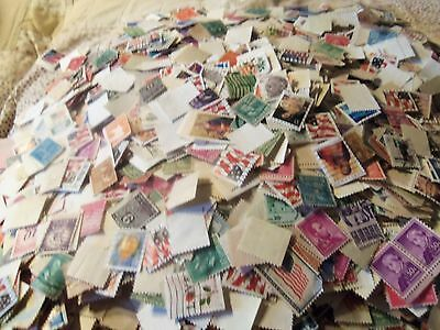 5 OZ. of US mixed stamps  Used off paper TAKE LOOK SEE !!!!