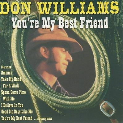 Don Williams - You're My Best Friend CD Album 1996