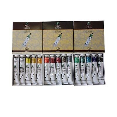 Marie's 15 Tubes Oil Colour Paint Combo