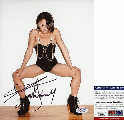 Sexy Kat Graham Signed 8x10 Vampire Diaries Bonnie Bennett PSA/DNA