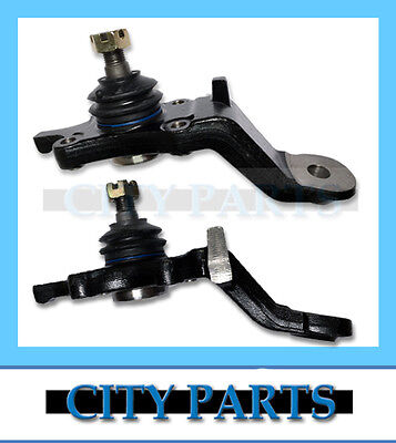 NEW TOYOTA PRADO 90 95 Series LH + RH LOWER BALL JOINTS LANDCRUISER VZJ KZJ RZJ