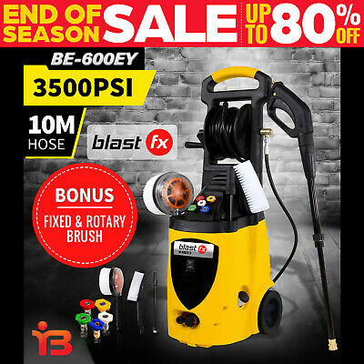3500PSI Electric High Pressure Water Washer Cleaner Machine 8M Hose