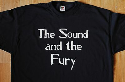 T-Shirt THE SOUND AND THE FURY (Joy Division Ian Curtis)