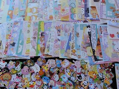 STICKERS & MEMO kawaii cute san-x sanrio gift deal stationery paper daughter lot