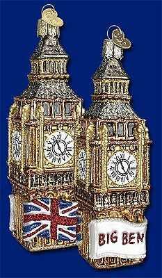 """Big Ben"" (20058) Old World Christmas Ornament"