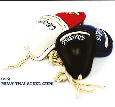 Fairtex Muay Thai Steel Cup Gc2 Groin Protectors Protective Gear Kick Boxing Mma