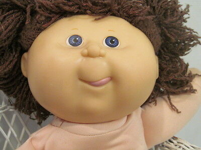 "14"" Hasbro  First Edition Brunette Cabbage Patch Girl Doll"