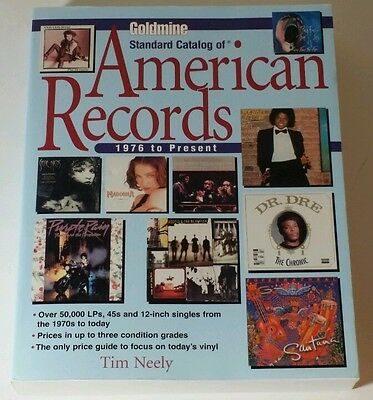 Goldmine Standard Catalog of American Records 1976 to Present 2001 Price Guide