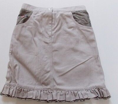 6y BLUE MOON by DAVID CHARLES girls designer beige skirt - any season & occasion