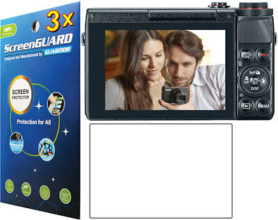 3x Clear LCD Screen Protector Film For Canon PowerShot G7 X G7X Mark II