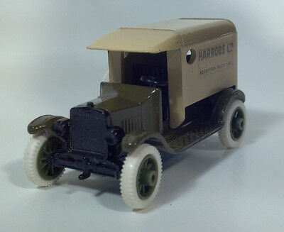 RARE Efsi 1919 Model T Ford Harrods Ltd Delivery Van Tin Lizzie 1:64 Diecast