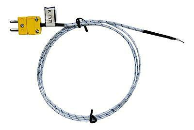 K Type Thermocouple Sensor, Probe, Wire, -50°C to 250°C 1 metre