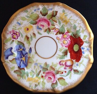 "Hammersley Queen Anne 6"" Dessert Pie Plate Handpainted Plates 3 Available*"