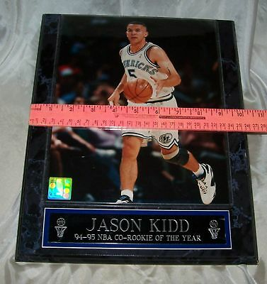Basketball Placque ~ Jason Kidd~ 94-95 NBA ~ Co-Rookie of the Year