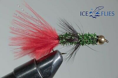 ICE FLIES. Streamer fly Alda. Pick a size (3-pack)