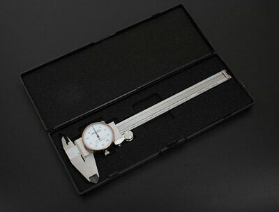 6'' x 0.001'' Precision Dial Caliper Stainless Steel in Fitted Box, #P920-S216