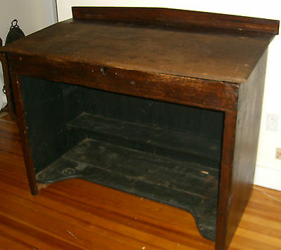Antique Headmasters Desk w/VT Origins c.1850 Architect/Artist  (FREE SHIPPING)