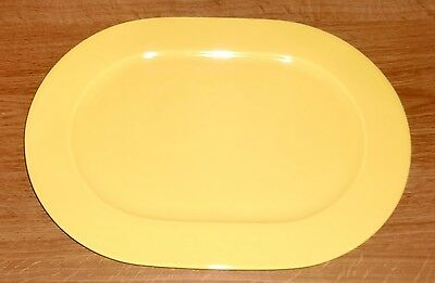 Pagnossin Ironstone - Oval Platter - Solid Yellow - Spa Martinique Treviso Italy