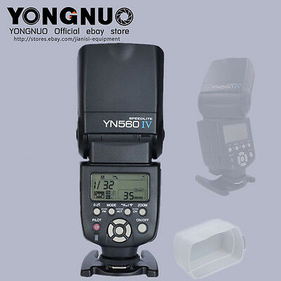 YONGNUO YN560IV Flash Speedlite flashgun for canon nikon Panasonic pentax sony