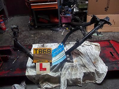 Peugeot vivacity 100  frame with log book !!